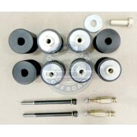 """SGV-16: Kit de calços de carroceria de 2"""" p/ Gran Vitara APENAS COM Motor 1.6"""