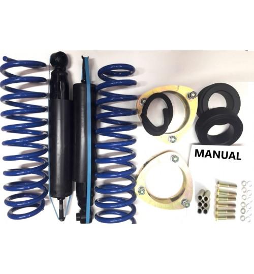 SGV-05B: Kit de suspensão GM Tracker até 2009 ou Gran Vitara 1999 a 2003 +2 polegadas (5cm)