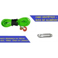 RC-SR Cabo sintético 11mm para Guincho Elétrico + Guia de Alumínio