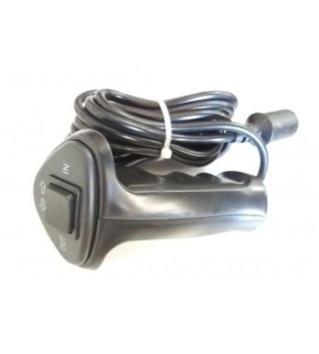 TX-WAC-004 Controle com fio para guincho elétrico com conector com 3 pinos.