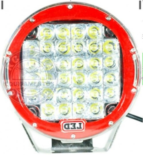 LD-58C: Farol de Milha Led 6,8 polegadas / 100 Watts 4x4 Off-Road