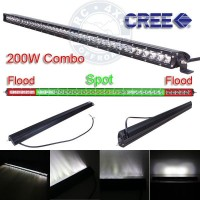 V02-200 Barra Led Reta Slim - Off-Road 4x4 105cm 200W de 9 a 32V