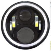 VD-08: Farol Angel Eye 7 polegadas com suporte p/ Novo Troller e Outros - O PAR