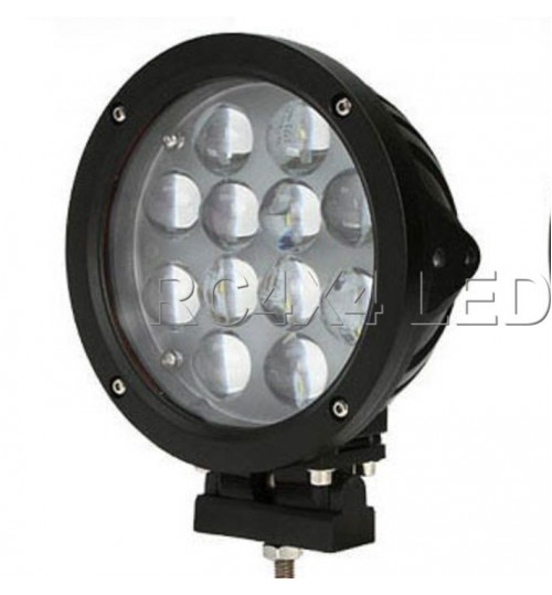 LD-003C: Farol de Milha Led 7 polegadas / 60 Watts 4x4 Off-Road
