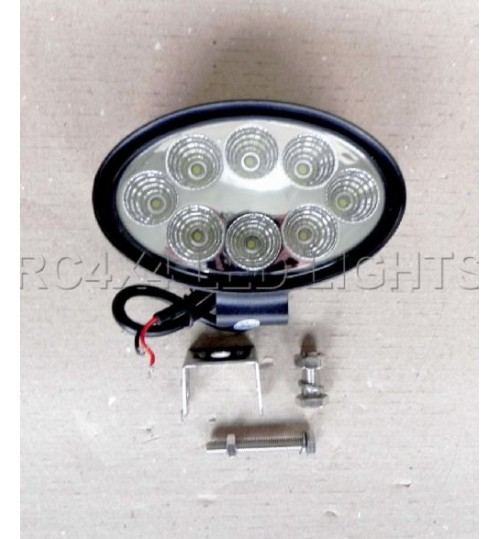 LD-21A: Farol de MIlha Led Oval 10 cm / 4 polegadas 24 Watts Off Road 4X4