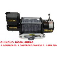 TXS-16000: GUINCHO 16000LBS / 7257KG CABO SINTÉTICO