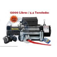 TX-12000: GUINCHO 12000LBS / 5443KG COM CABO DE AÇO: