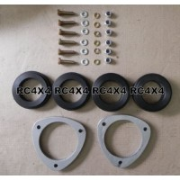 SGV-05C: Kit de calços de suspensão de 1 polegada